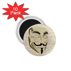 We The Anonymous People 1 75  Button Magnet (10 Pack) by StuffOrSomething