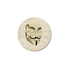We The Anonymous People Golf Ball Marker by StuffOrSomething