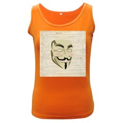 We The Anonymous People Women s Tank Top (dark Colored)
