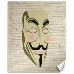 We The Anonymous People Canvas 16  X 20  (unframed) by StuffOrSomething