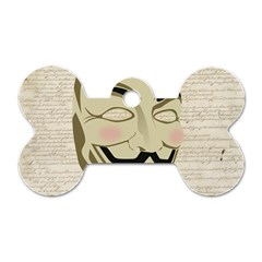 We The Anonymous People Dog Tag Bone (one Sided) by StuffOrSomething