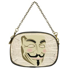 We The Anonymous People Chain Purse (one Side) by StuffOrSomething