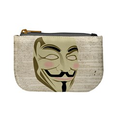 We The Anonymous People Coin Change Purse by StuffOrSomething