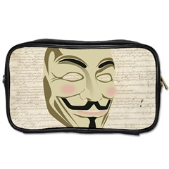 We The Anonymous People Travel Toiletry Bag (two Sides) by StuffOrSomething