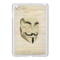 We The Anonymous People Apple Ipad Mini Case (white) by StuffOrSomething