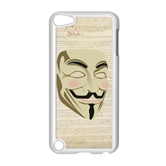 We The Anonymous People Apple Ipod Touch 5 Case (white) by StuffOrSomething