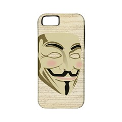 We The Anonymous People Apple Iphone 5 Classic Hardshell Case (pc+silicone) by StuffOrSomething