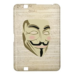 We The Anonymous People Kindle Fire Hd 8 9  Hardshell Case by StuffOrSomething