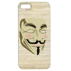 We The Anonymous People Apple iPhone 5 Hardshell Case with Stand by StuffOrSomething