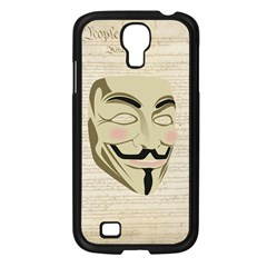 We The Anonymous People Samsung Galaxy S4 I9500/ I9505 Case (black) by StuffOrSomething