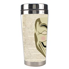 We The Anonymous People Stainless Steel Travel Tumbler by StuffOrSomething