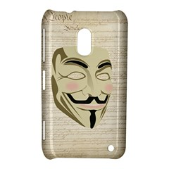 We The Anonymous People Nokia Lumia 620 Hardshell Case