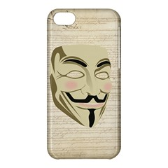 We The Anonymous People Apple Iphone 5c Hardshell Case by StuffOrSomething