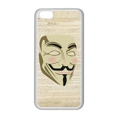 We The Anonymous People Apple Iphone 5c Seamless Case (white) by StuffOrSomething