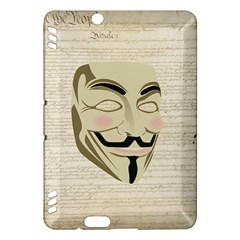 We The Anonymous People Kindle Fire Hdx 7  Hardshell Case by StuffOrSomething