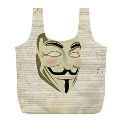We The Anonymous People Reusable Bag (l) by StuffOrSomething
