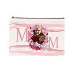 Mothers Day By Mom   Cosmetic Bag (large)   Vhjka579mvu0   Www Artscow Com Front