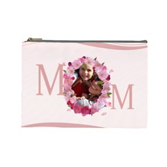 Mothers Day By Mom   Cosmetic Bag (large)   Pba47sz3lqjp   Www Artscow Com Front