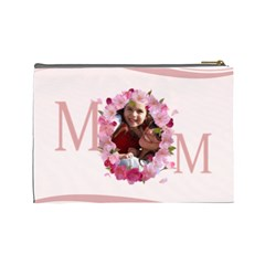 Mothers Day By Mom   Cosmetic Bag (large)   Pba47sz3lqjp   Www Artscow Com Back