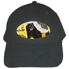 Honeybadgersnack Black Baseball Cap
