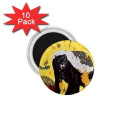 Honeybadgersnack 1 75  Button Magnet (10 Pack) by BlueVelvetDesigns
