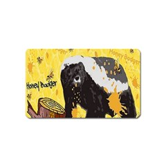 Honeybadgersnack Magnet (name Card) by BlueVelvetDesigns