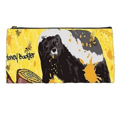 Honeybadgersnack Pencil Case by BlueVelvetDesigns