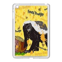 Honeybadgersnack Apple Ipad Mini Case (white) by BlueVelvetDesigns