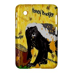 Honeybadgersnack Samsung Galaxy Tab 2 (7 ) P3100 Hardshell Case  by BlueVelvetDesigns