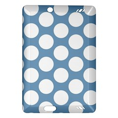 Blue Polkadot Kindle Fire Hd 7  (2nd Gen) Hardshell Case by Zandiepants