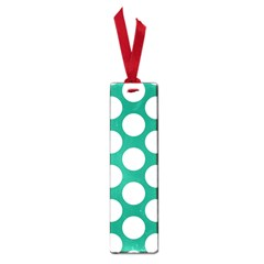 Emerald Green Polkadot Small Bookmark by Zandiepants