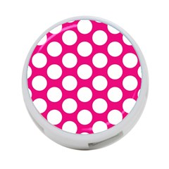 Pink Polkadot 4 Port Usb Hub (two Sides) by Zandiepants