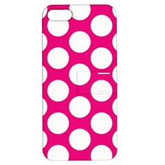 Pink Polkadot Apple Iphone 5 Hardshell Case With Stand by Zandiepants