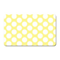 Yellow Polkadot Magnet (rectangular) by Zandiepants