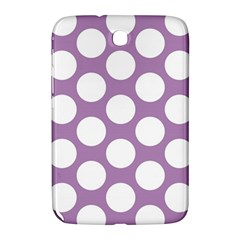 Lilac Polkadot Samsung Galaxy Note 8 0 N5100 Hardshell Case  by Zandiepants