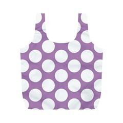 Lilac Polkadot Reusable Bag (M)