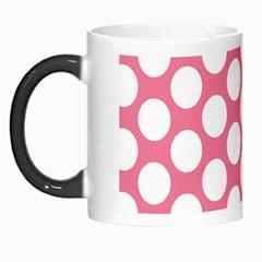 Pink Polkadot Morph Mug by Zandiepants