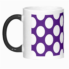 Purple Polkadot Morph Mug by Zandiepants