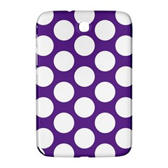 Purple Polkadot Samsung Galaxy Note 8 0 N5100 Hardshell Case  by Zandiepants