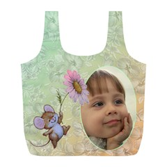 Mousey Recycle Bag (l) By Deborah   Full Print Recycle Bag (l)   Yl3ikqh7f47s   Www Artscow Com Back
