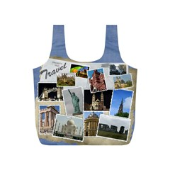 Travel Recycle Bag (s) By Deborah   Full Print Recycle Bag (s)   S4ibpxzxco4y   Www Artscow Com Back