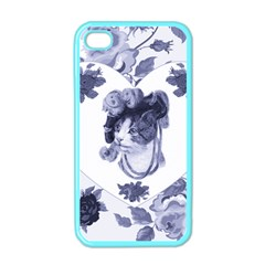 Miss Kitty Apple Iphone 4 Case (color) by misskittys