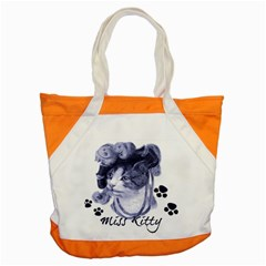 Miss Kitty blues Accent Tote Bag by misskittys