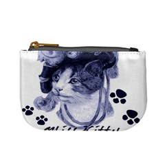 Miss Kitty Blues Coin Change Purse by misskittys