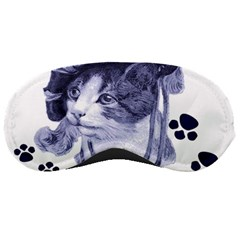 Miss Kitty Blues Sleeping Mask by misskittys