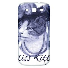 Miss Kitty Blues Samsung Galaxy S3 S Iii Classic Hardshell Back Case by misskittys