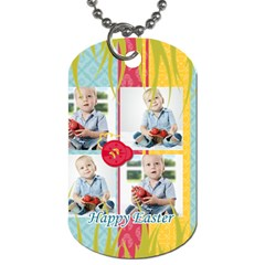 Easter By Easter   Dog Tag (two Sides)   Fmu9ttaltgc1   Www Artscow Com Front