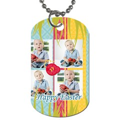 Easter By Easter   Dog Tag (two Sides)   Fmu9ttaltgc1   Www Artscow Com Back
