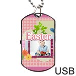 easter - Dog Tag USB Flash (Two Sides)