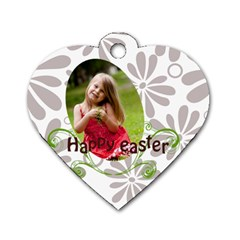 Easter By Easter   Dog Tag Heart (two Sides)   K8m86oqmwi8c   Www Artscow Com Back